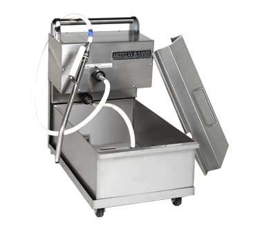 American Range ARPFS-85 fryer filter, mobile