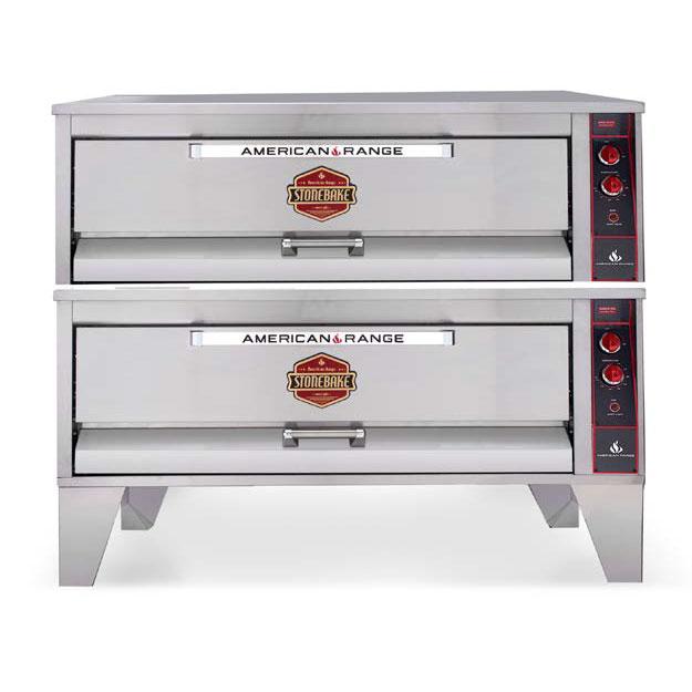 American Range ARSD-606-BL pizza bake oven, deck-type, gas