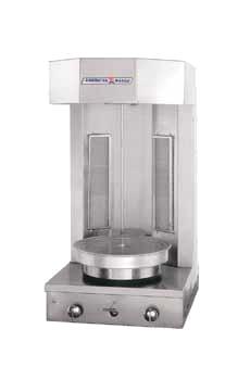 American Range AVCB-2 vertical broiler (gyro), gas
