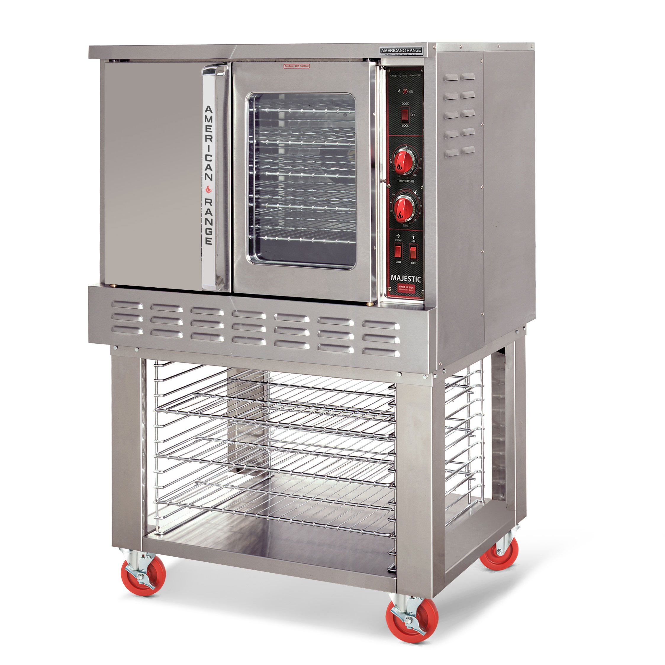 American Range MSD-1 convection oven, gas