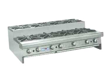 American Range SUHP-48-8 hotplate, countertop, gas
