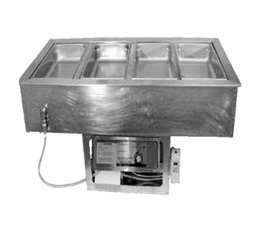APW Wyott CHDT-6 hot / cold food well unit, drop-in, electric