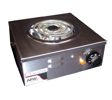 APW Wyott CP-1A hotplate, countertop, electric