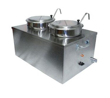 APW Wyott CWM-2SP food pan warmer/rethermalizer, countertop