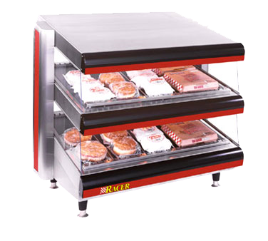 APW Wyott DMXD-36H display merchandiser, heated, for multi-product