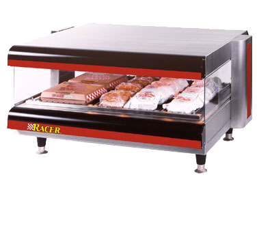 APW Wyott DMXS-36S display merchandiser, heated, for multi-product