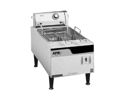 APW Wyott EF-15IN fryer, electric, countertop, full pot