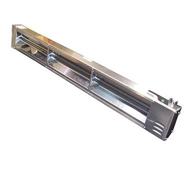 APW Wyott FD-36H-T heat lamp, strip type