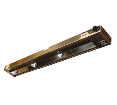 APW Wyott FD-66H-I heat lamp, strip type