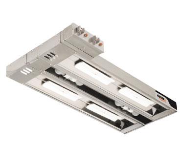 APW Wyott FDDLC-48H heat lamp, strip type