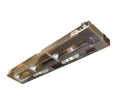 APW Wyott FDL-36L-T heat lamp, strip type