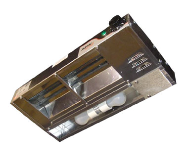 APW Wyott FDL-48L-I heat lamp, strip type