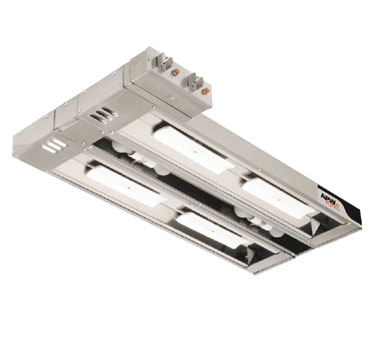 APW Wyott FDLC-18L heat lamp, strip type