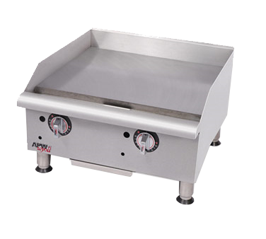 APW Wyott GGT-18I-CE griddle, gas, countertop