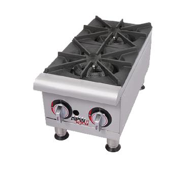 APW Wyott GHP-4I hotplate, countertop, gas