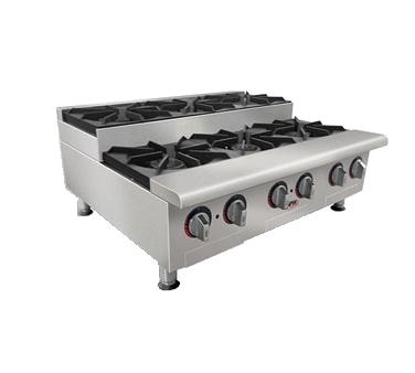 APW Wyott GHPS-2I hotplate, countertop, gas