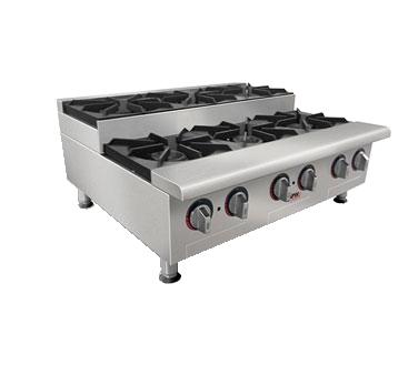 APW Wyott GHPS-6I hotplate, countertop, gas