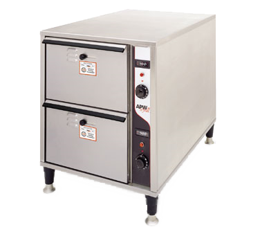 APW Wyott HDDIS-2 warming drawer, free standing
