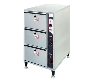 APW Wyott HDDIS-3 warming drawer, free standing