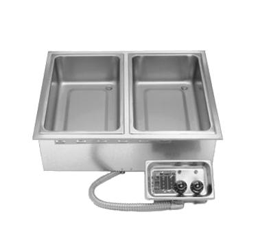 APW Wyott HFW-2 hot food well unit, drop-in, electric
