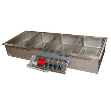 APW Wyott HFW-4D hot food well unit, drop-in, electric