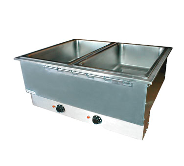 APW Wyott HFWAT-3D hot food well unit, drop-in, electric