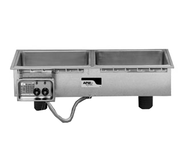 APW Wyott HFWS-4 hot food well unit, drop-in, electric