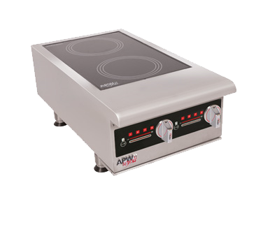 APW Wyott IHP-2 induction range, countertop
