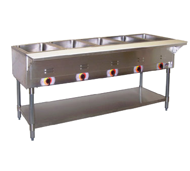 APW Wyott PST-4S serving counter, hot food, electric