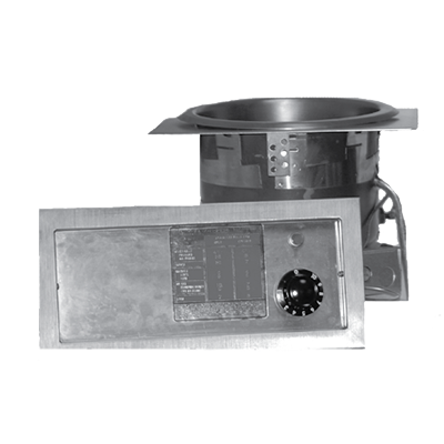 APW Wyott SM-50EZ-11D hot food well unit, drop-in, electric