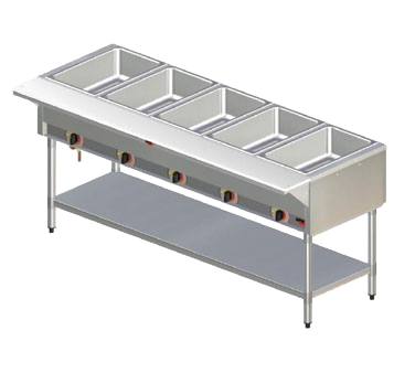 APW Wyott SST-5S serving counter, hot food, electric