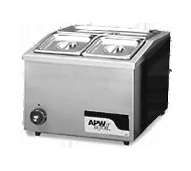 APW Wyott W-12 food pan warmer, countertop