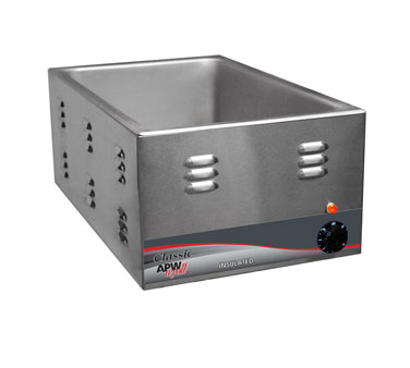 APW Wyott W-3VI-CE food pan warmer, countertop