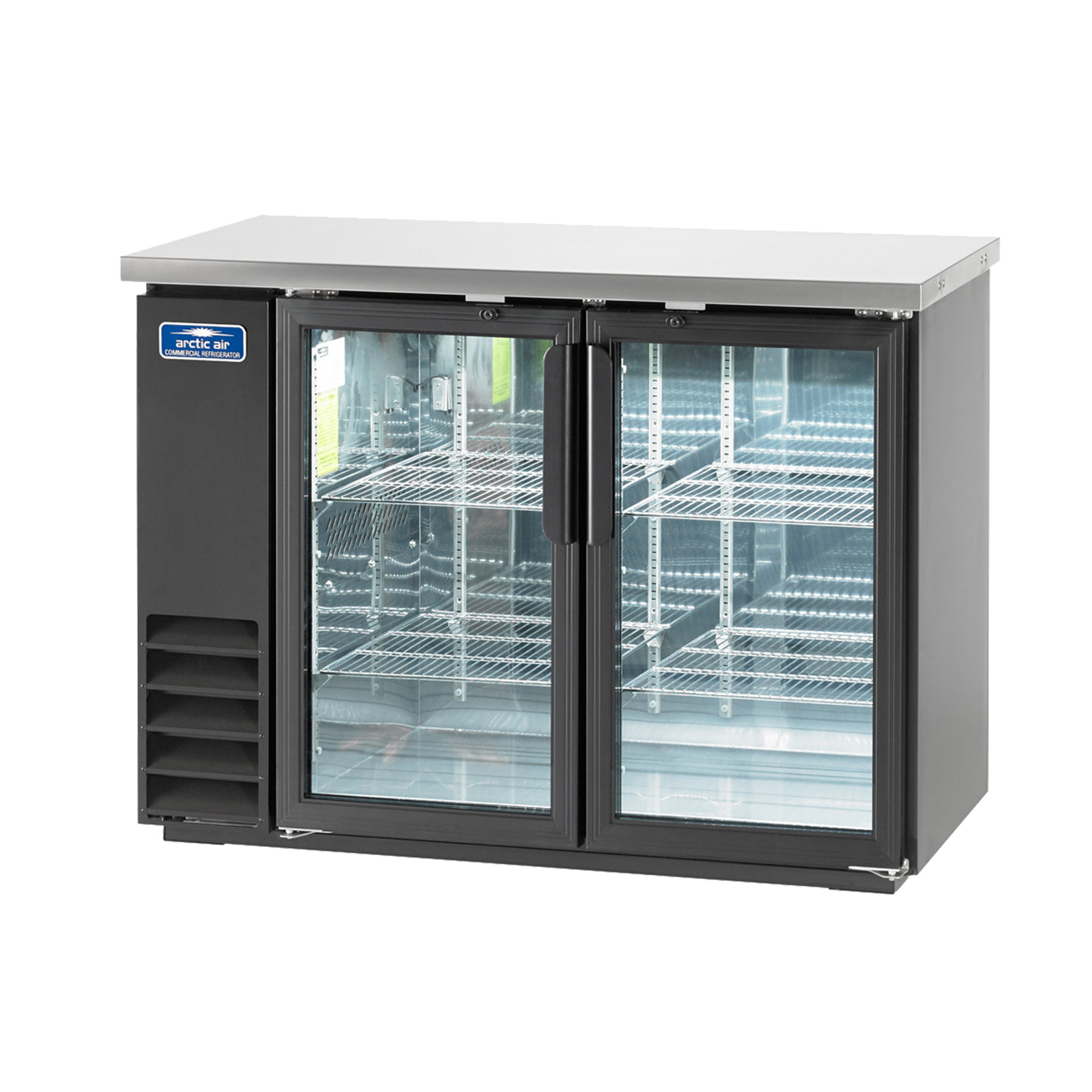 ABB48G Arctic Air Back bar cabinet, refrigerated