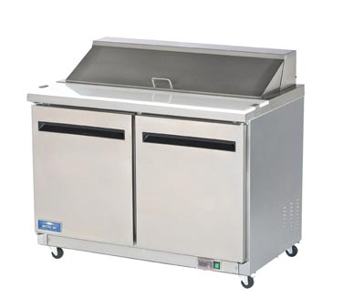 Arctic Air AST48R refrigerated counter, sandwich / salad unit