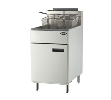 Atosa USA ATFS-75 fryer, gas, floor model, full pot