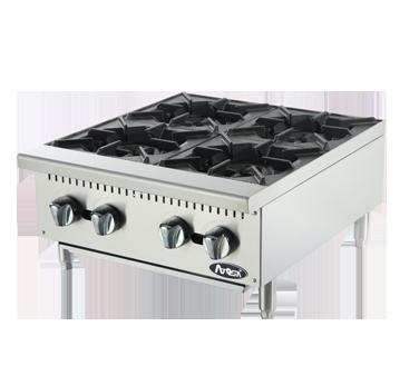 Atosa USA ATHP-24-4 hotplate, countertop, gas