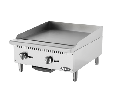Atosa USA ATMG-24 griddle, gas, countertop