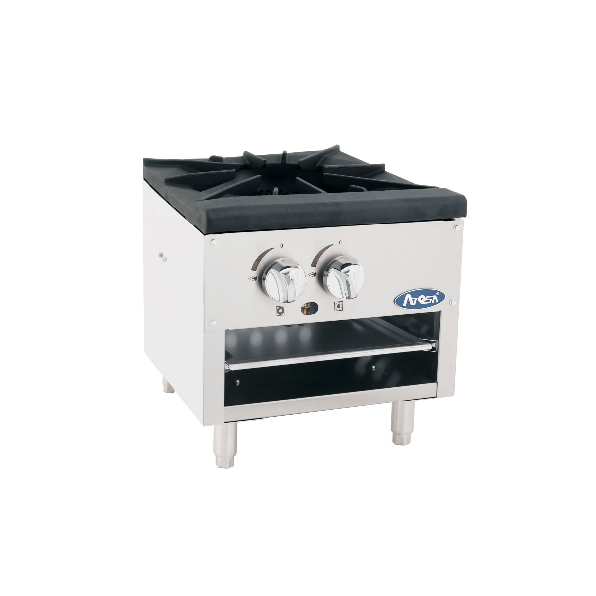 Atosa USA ATSP-18-1L range, stock pot, gas