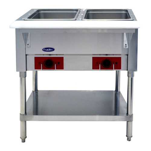 Atosa USA CSTEA-2 serving counter, hot food, electric