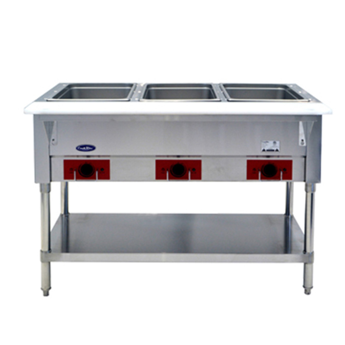 Atosa USA CSTEA-3B serving counter, hot food, electric