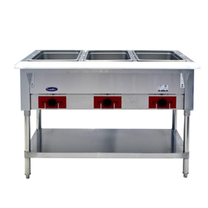 Atosa USA CSTEA-3B serving counter, hot food, electric