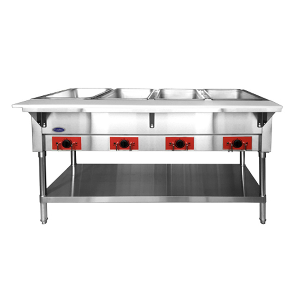 Atosa USA CSTEA-4B serving counter, hot food, electric