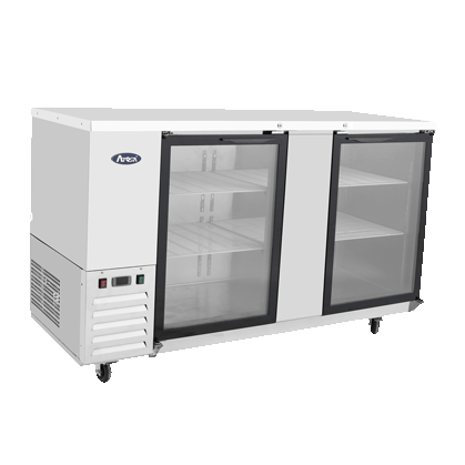 Atosa USA MBB69G-GR back bar cabinet, refrigerated