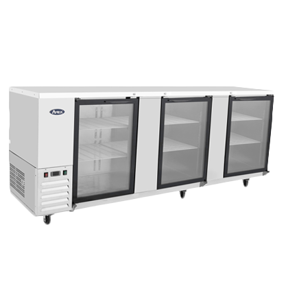 Atosa USA MBB90G-GR back bar cabinet, refrigerated