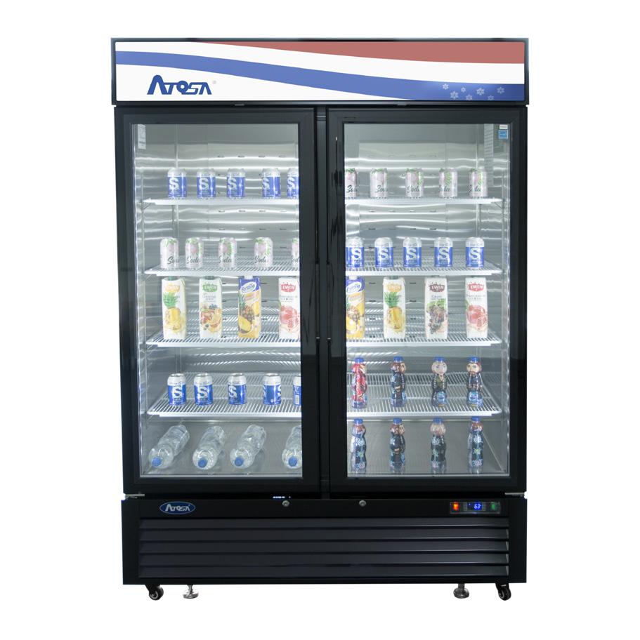 Atosa USA MCF8723GR refrigerator, merchandiser