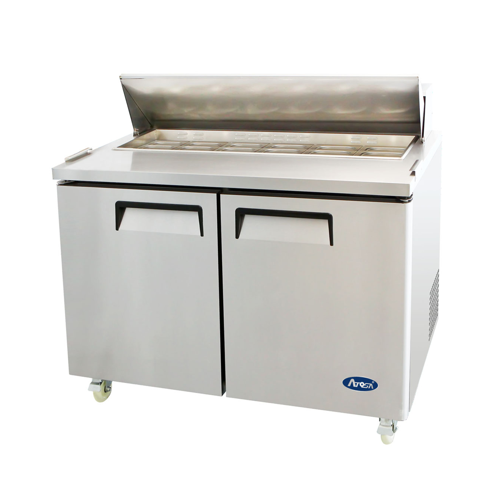 Atosa USA MSF8302GR refrigerated counter, sandwich / salad unit