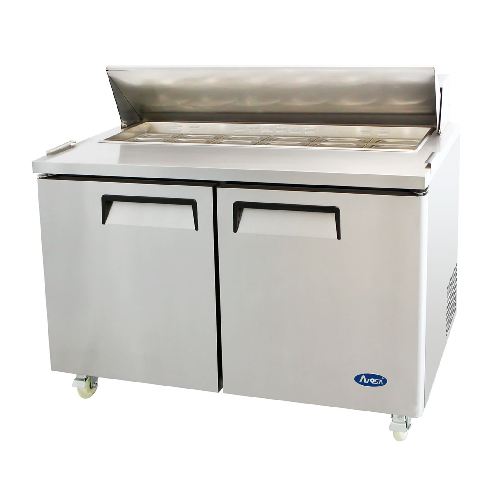 Atosa USA MSF8303GR refrigerated counter, sandwich / salad unit