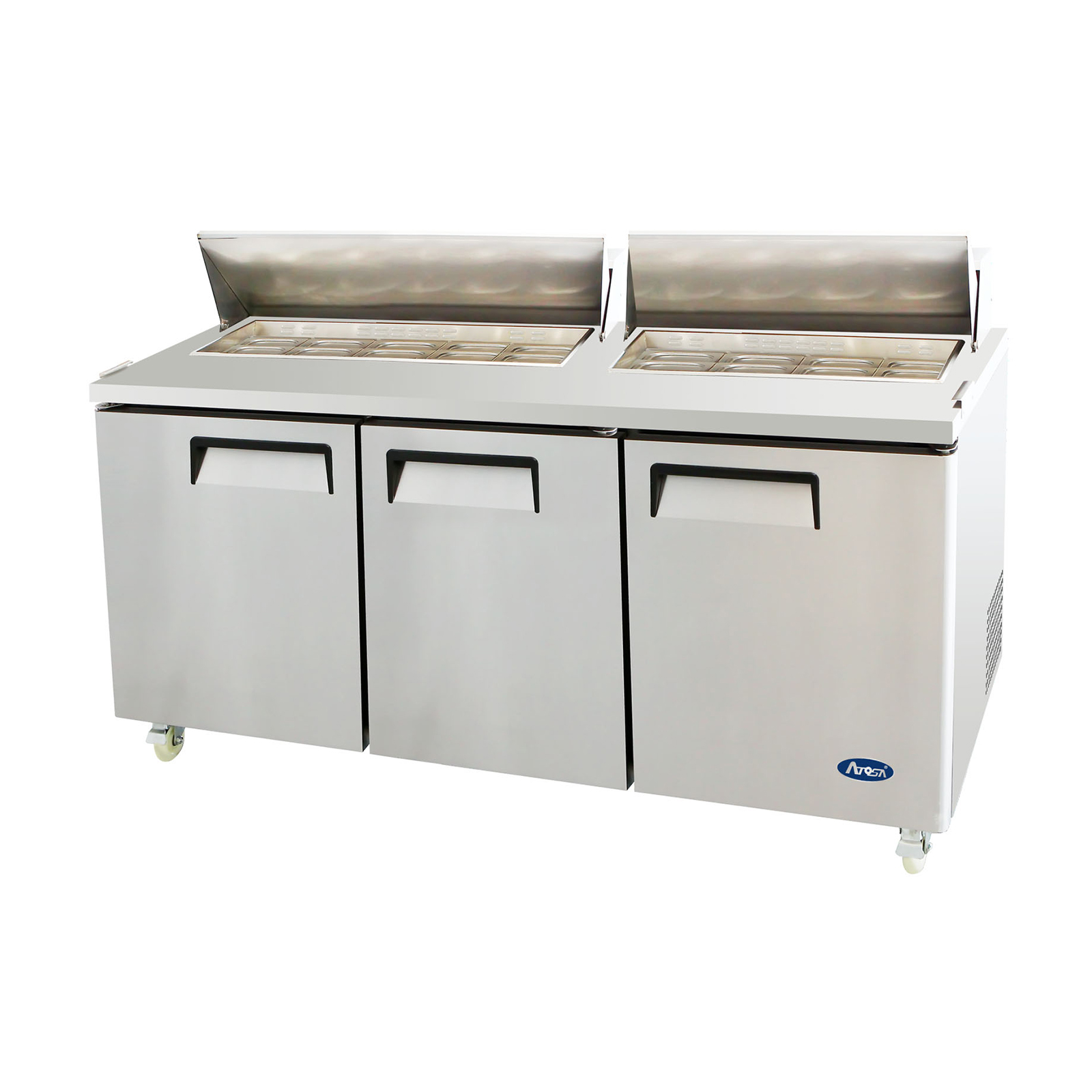 Atosa USA MSF8304GR refrigerated counter, sandwich / salad unit