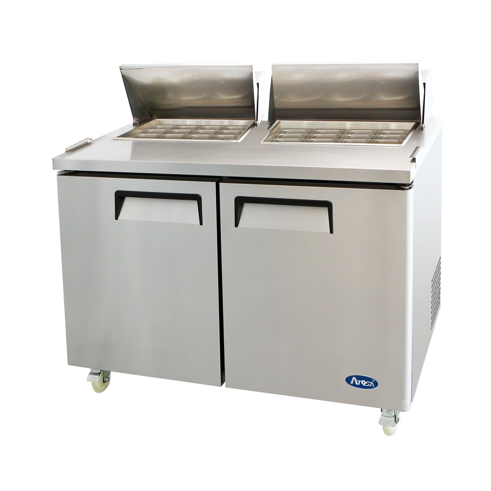 Atosa USA MSF8307GR refrigerated counter, mega top sandwich / salad unit